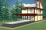 Project of Wooden House 256_4
