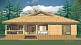 Project of Wooden House 200_2