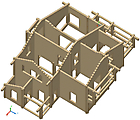 Project of Wooden House 208_1