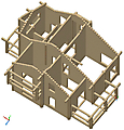Project of Wooden House 208_2