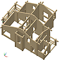 Project of Wooden House 208_4