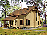 Project of Wooden House 208_7