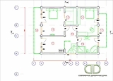 Project of Wooden House 258_1