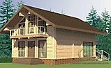 Project of Wooden House 258_3