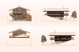 Project of Wooden House 180_5