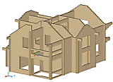 Project of Wooden House 209_1