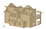 Project of Wooden House 209_4