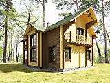 Project of Wooden House 209_7