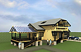 Project of Wooden House 214_1