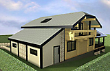 Project of Wooden House 214_4