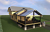 Project of Wooden House 214_5