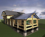 Project of Wooden House 214_7