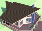 Project of Wooden House 215_2