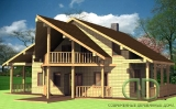 Project of Wooden House 215_3