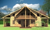 Project of Wooden House 215_4