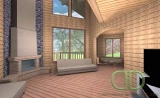 Project of Wooden House 215_5