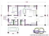 Project of Wooden House 216_3