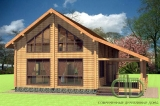 Project of Wooden House 220