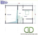 Project of Wooden House 220_3