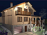 Project of Wooden House 221_2