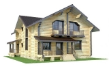 Project of Wooden House 224_1