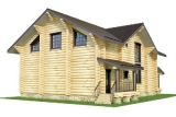 Project of Wooden House 224_2