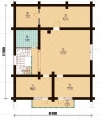 Project of Wooden House 224_6