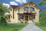 Project of Wooden House 224