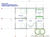 Project of Wooden House 225_3