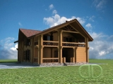 Project of Wooden House 227