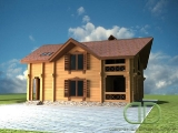 Project of Wooden House 227_2