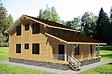 Project of Wooden House 236_5