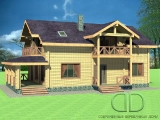 Project of Wooden House 237_1