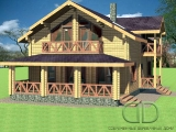 Project of Wooden House 237