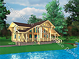 Project of Wooden House 251-2_1