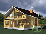 Project of Wooden House 253
