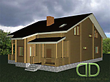 Project of Wooden House 253_2