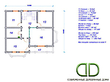 Project of Wooden House 253_4