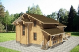 Project of Wooden House 255_1