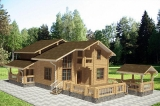 Project of Wooden House 255