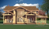 Project of Wooden House 267_2