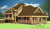 Project of Wooden House 271