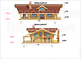 Project of Wooden House 295_2