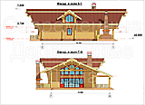 Project of Wooden House 295_3