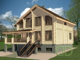 Project of Wooden House 300_2