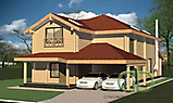 Project of Wooden House 351_1