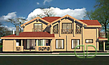 Project of Wooden House 351_2