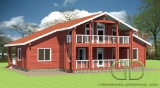 Project of Wooden House 419_2