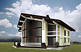 Project of Wooden House 450