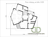 Project of Wooden House 450_11